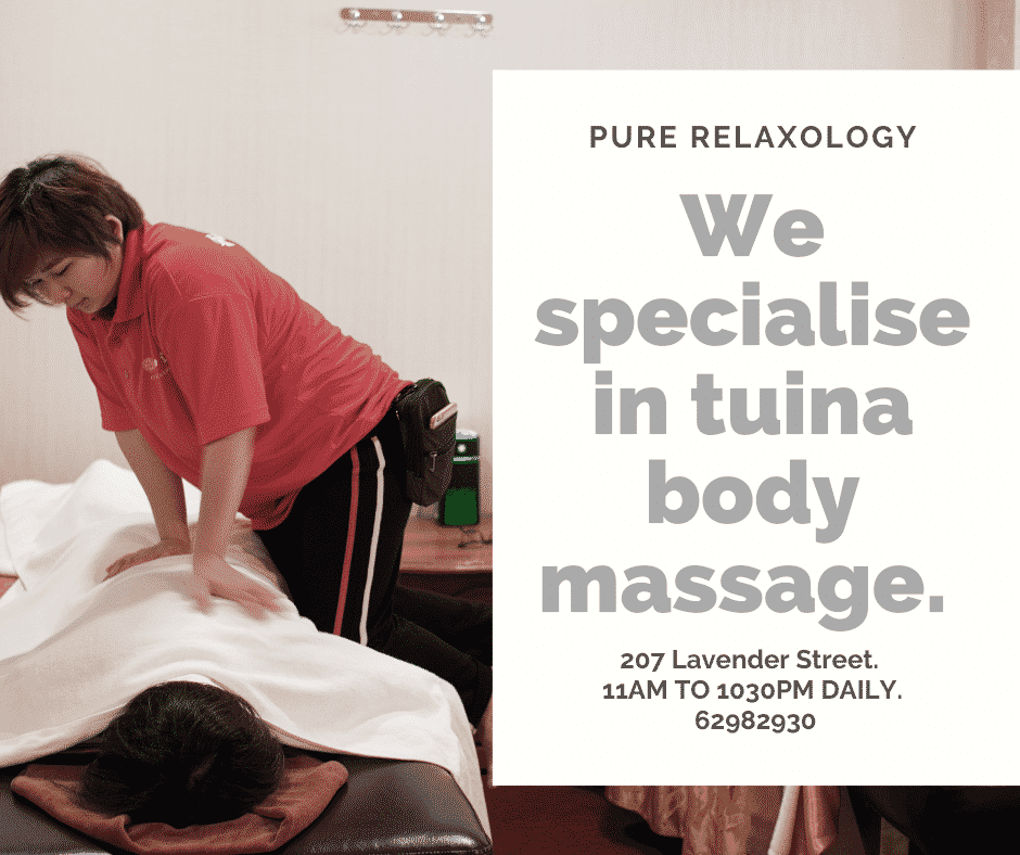 we specialise in tuina massage